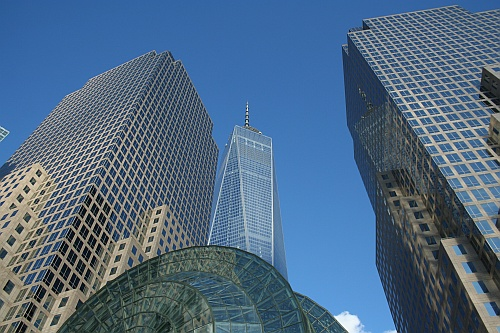 Mrakodrapy v okolí World Trade Center.