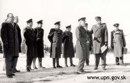 Foto 1: Súčinnostná porada VKR, ŠtB a KGB