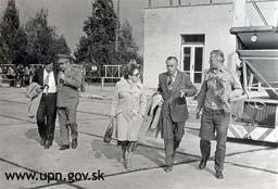Foto: Návšteva dôstojníka KGB Naľjotova vo Východoslovenskom kraji