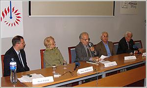 Foto: Zľava: Zdena Mašínova , Milan Pika , Josef Mašín, Milan Paumer.