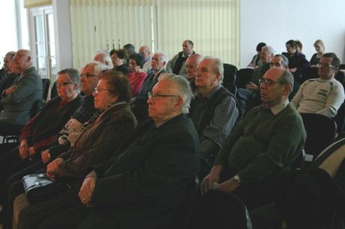 Foto: publikum v Prievidzi