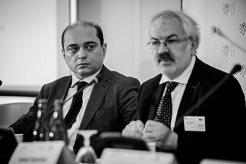 Photo: Basil Kerski and Prof. Oldrich Tuma