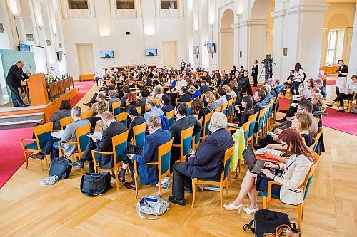Photo: Audience during symposium